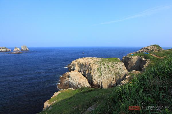 在渔山列岛中,北渔山岛面积不大